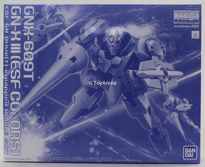 Gundam 1/100 MG GN-X III ESF Colors GNX-609T Premium Bandai Limited Exclusive Model Kit