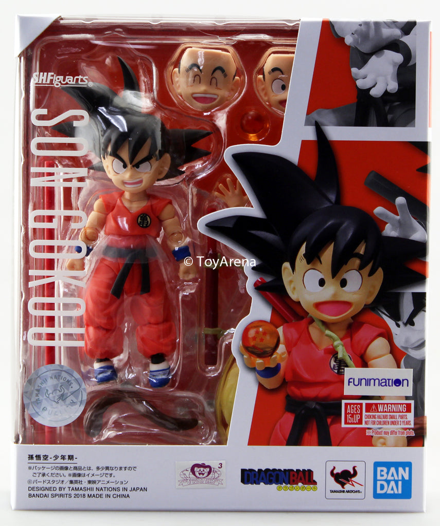S.H. Figuarts Dragonball Kid Goku Action Figure