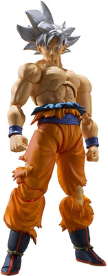 S.H. Figuarts Dragon Ball Super Son Goku Ultra Instinct Action Figure USA Ver