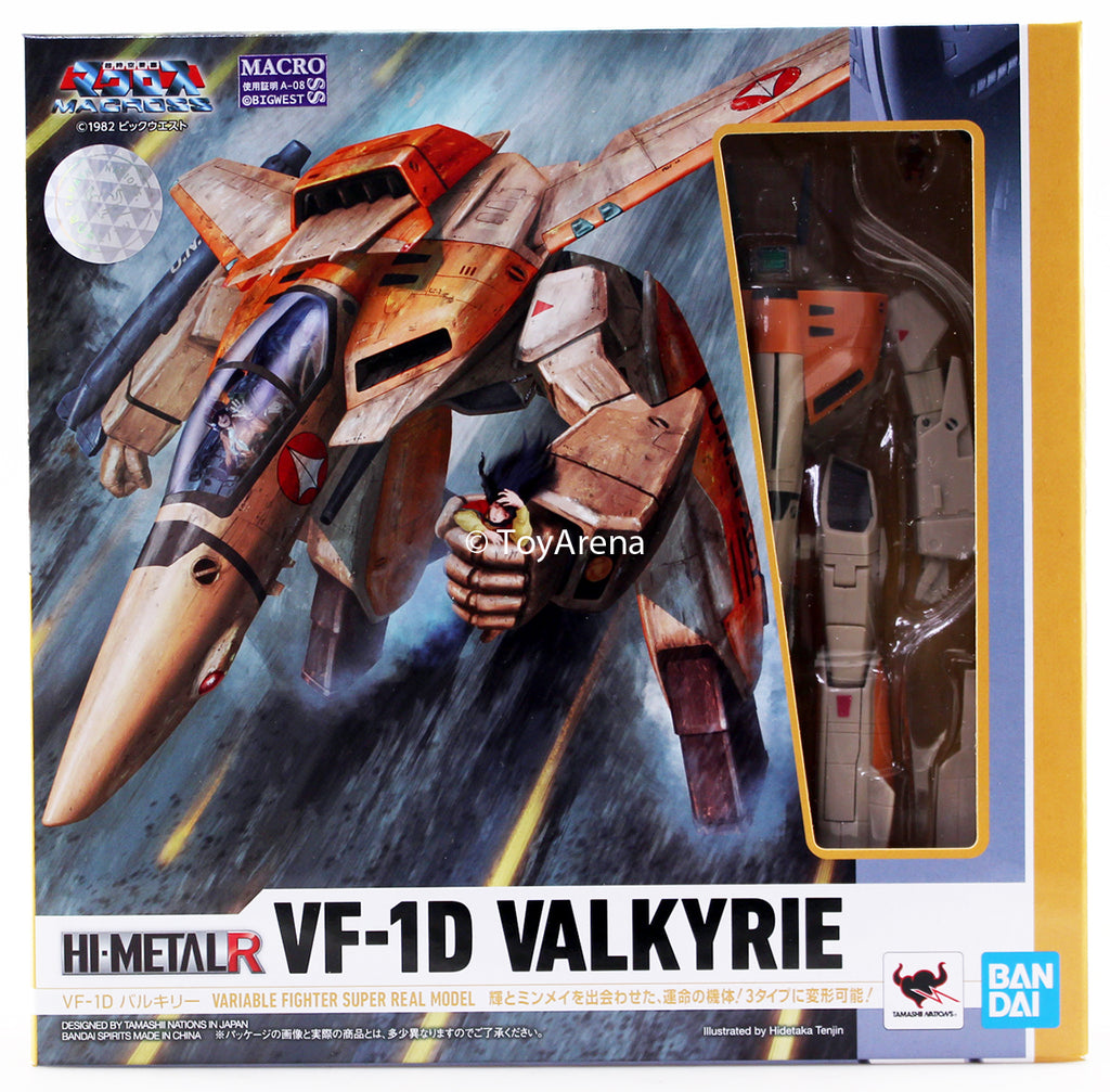 Hi-Metal R VF-1D Valkryie Macross Die Cast Action Figure