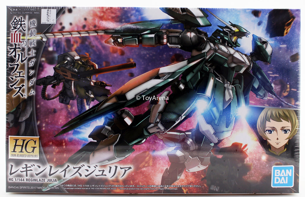 Gundam G-Tekketsu 1/144 HG #034 Reginlaze Julia Iron-Blooded Orphans Model Kit