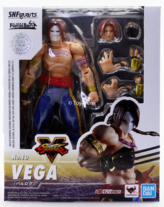 S.H. Figuarts Street Fighter V (5) Vega (Balrog) Action Figure