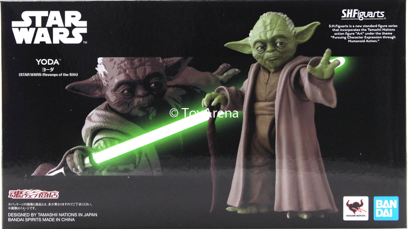 S H Figuarts Yoda Revenge Of The Sith Star Wars Episode Iii Action Fi Toyarena