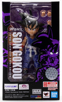 SDCC 2019 Bandai S.H. Figuarts Dragonball Z Son Gokou Kid Goku Blue Exclusive