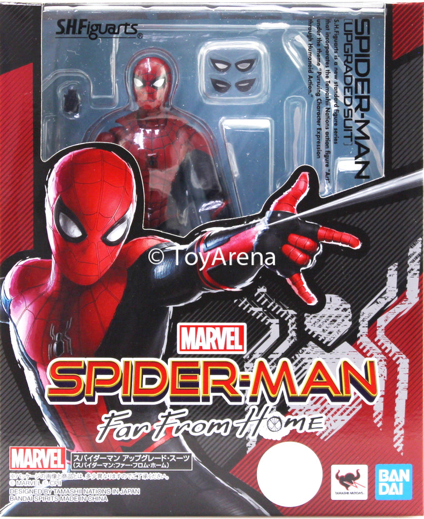 S.H. Figuarts Spiderman Far From Home - Spiderman Upgrade Suit