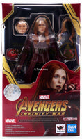 S.H. Figuarts Scarlet Witch Avengers Infinity War Tamashii Exclusive Action Figure