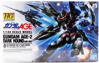 Gundam AGE 1/144 HG #24 Gundam Age-2 Dark Hound AGE-2DH High Grade Model Kit