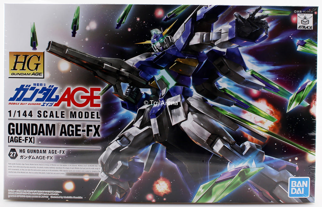 Gundam AGE 1/144 HG #27 Gundam AGE-FX High Grade Model Kit