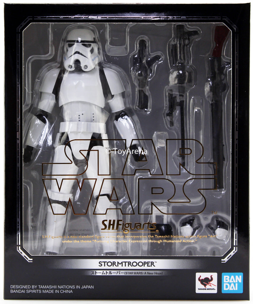 S.H. Figuarts Stormtrooper A New Hope Star Wars Episode IV Action Figure