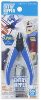 Bandai Spirits Entry Nipper Blue Plastic Cutting Nipper For Plastic Model