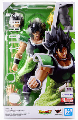 S.H. Figuarts Dragon Ball Super Broly Action Figure