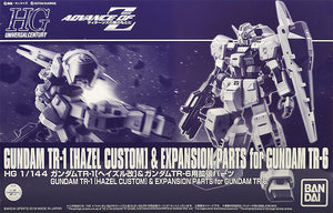 Gundam 1/144 HGUC Advance of Zeta RX-121 TR-1 [Hazel] & Expansion Parts for RX-124 TR-6 Model Kit Exclusive