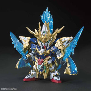 Gundam SDSS #007 Sangoku Soketsuden Zhao Yun 00 Gundam and Blue Dragon Drive Model Kit