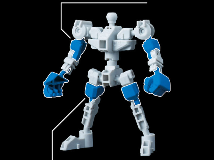 Gundam SD Cross Silhouette SDCS #12 Silhouette Booster (White) Expansion Set Model Kit 1