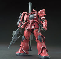 Gundam 1/144 HG The Origin #024 MS-06S Zaku II Red Comet Ver. Model Kit