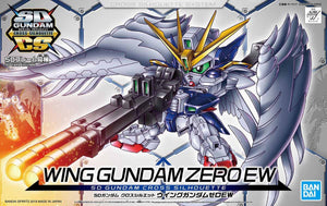 SD Gundam Cross Silhouette SDGCS #13 Wing Gundam Zero EW (Wing Zero Custom) Model Kit