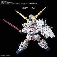 SD Gundam Cross Silhouette SDGCS #12 Gundam Unicorn Destroy Mode Model Kit
