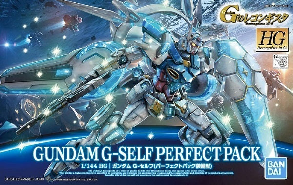 Gundam Reconguista G 1/144 HG #17 Gundam G-Self with Perfect Pack Model Kit