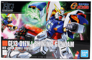 Gundam 1/144 HGUC #127 HGFC G-Gundam GF13-017NJ Shining Gundam Model Kit