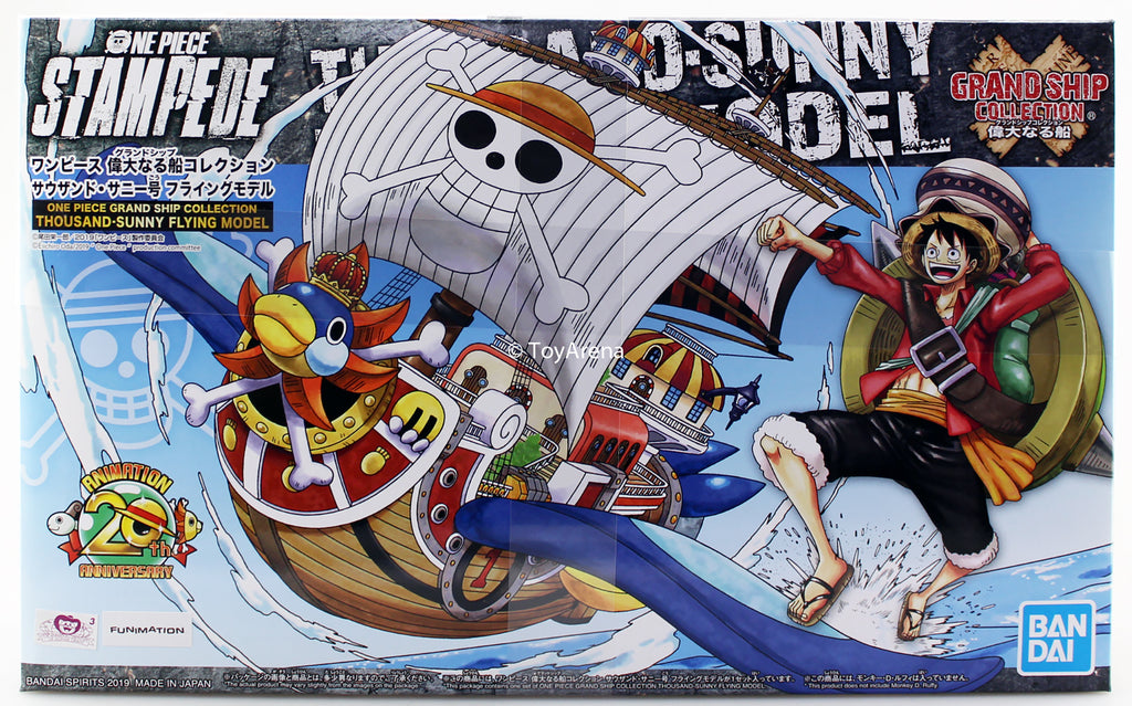 One Piece Stampede Grand Ship Collection Thousand Sunny Flying Model Kit