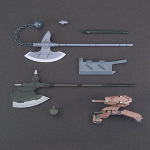 Gundam G-Tekketsu 1/144 HG IBA #03 Gundam Iron-Blooded Orphans Customize Parts MS Option Set 3 and Gjallarhorn Mobile Worker Model Kit