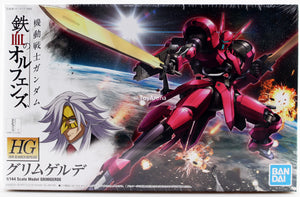 Gundam G-Tekketsu 1/144 HGIBO #014 Iron-Blooded Orphans Grimgerde V08-1228 Model Kit