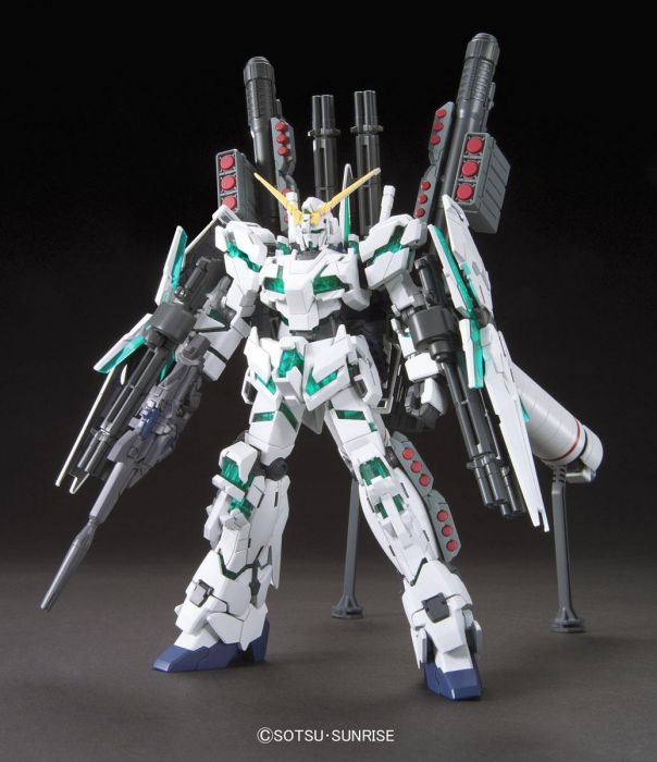 Gundam 1/144 #178 HGUC RX-0 Full Armor Unicorn Gundam [Destroy Mode] Model Kit