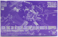 Gundam 1/144 HG The Origin RGM-79KC GM Intercept Custom Fellow Booster Equipped Limited Model Kit Bandai Exclusive