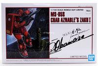 Gundam 1/144 HG The Origin MS-05S Char Aznable's Zaku I Limited Model Kit Bandai Exclusive