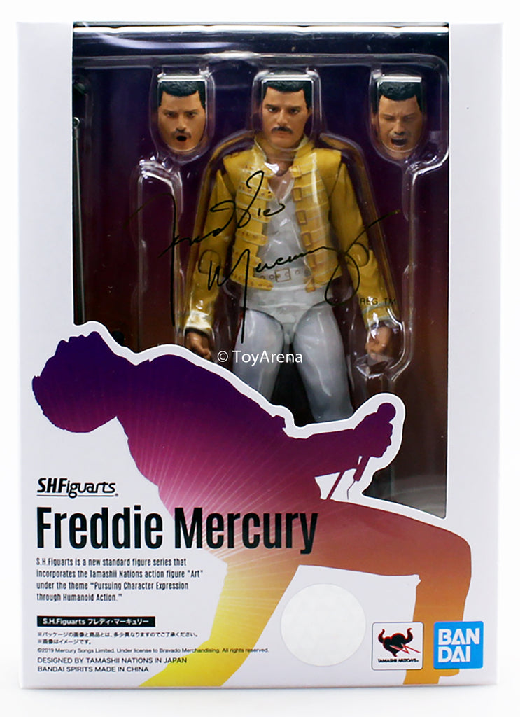 S.H. Figuarts Queen Live at Wembley Stadium Freddie Mercury Action Figure