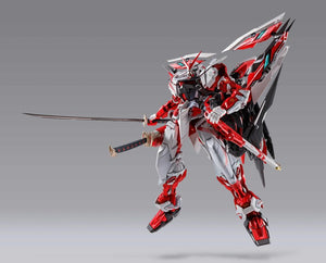 Bandai Metal Build Gundam SEED Vs Astray MBF-P02Kai Gundam Astray Red Frame Kai Alternative Strike Ver Action Figure