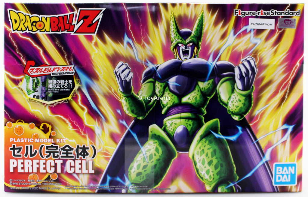 Figure-rise Standard Dragon Ball Z Perfect Cell (New Pkg.) Model Kit