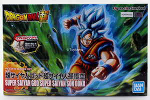 Figure-rise Standard Dragonball Super Super Saiyan God Super Saiyan Son Goku Plastic Model Kit