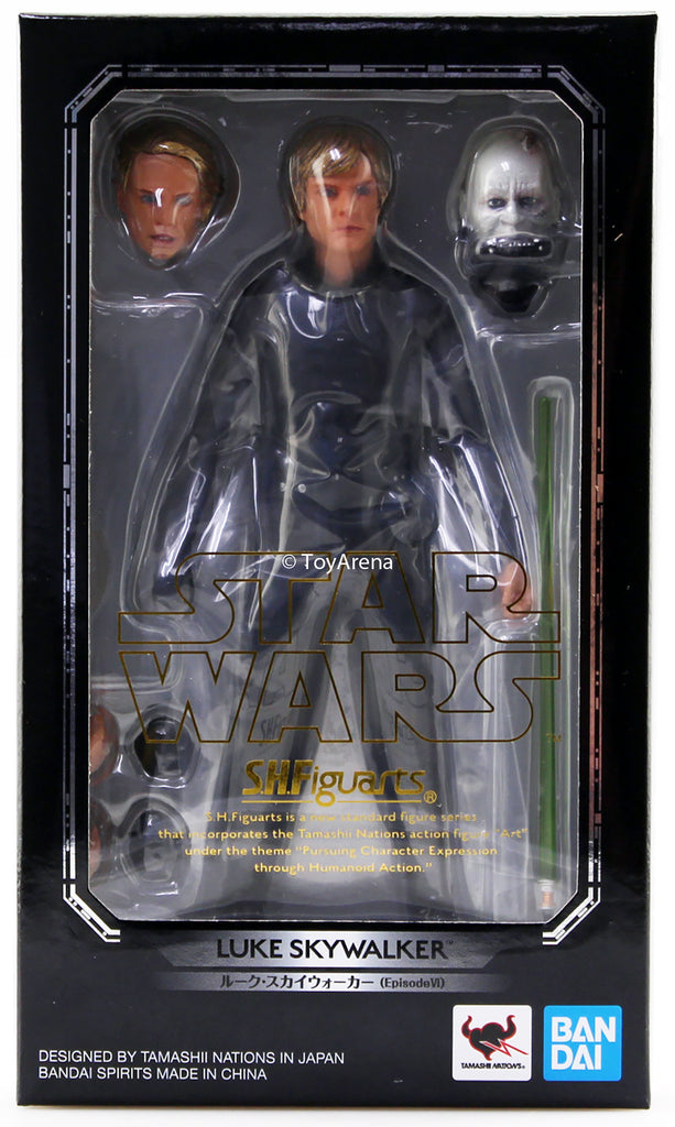 S.H. Figuarts Luke Skywalker Episode VI (6) Return of the Jedi Ver Star Wars Action Figure