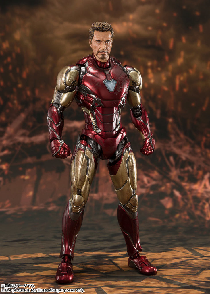 S.H. Figuarts Avengers: Endgame Final Battle Edition Iron Man Mark 85 Action Figure 5