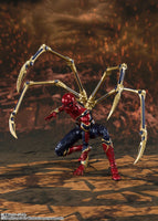 S.H. Figuarts Avengers: Endgame Iron Spider-Man Final Battle Edition Action Figure (USA Ver.)