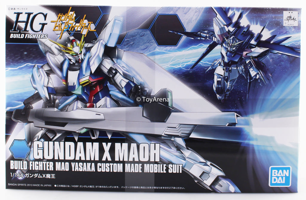 Gundam Build Fighters HGBF #003 Gundam X Maoh Mao Yasaka Custom Made Mobile Suit 1/144 Model Kit