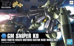 Gundam Build Fighters 1/144 HGBF #010 RGM-79K9 GM Sniper K9 Model Kit 1