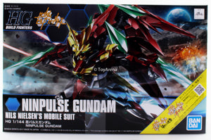 Gundam Build Fighters HGBF #057 Ninpulse Gundam Nils Nielson Mobile Suit Model Kit 1