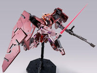 Gundam 1/100 MG GN-002 Gundam Dynames Trans-Am Mode (Metal Gloss Injection) Model Kit Exclusive