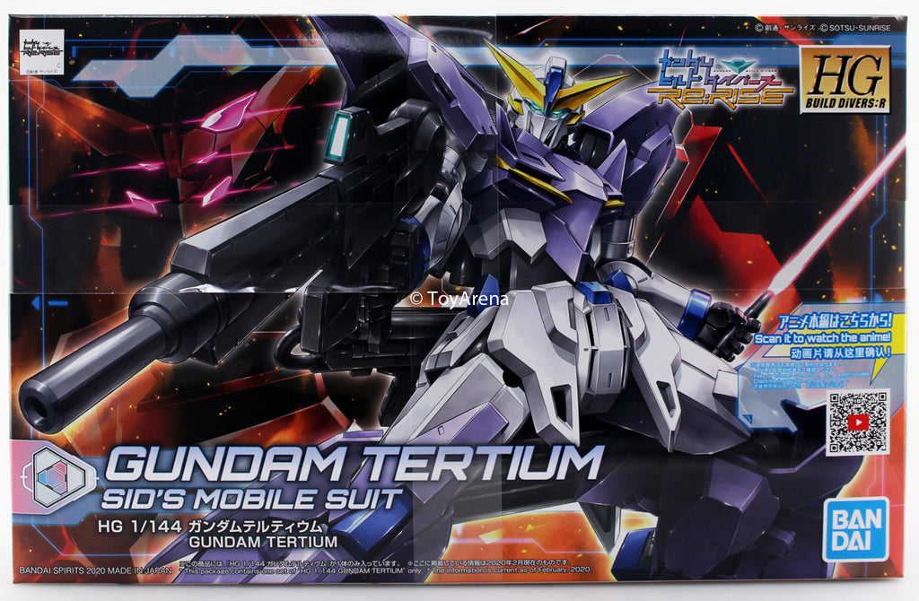 Gundam 1/144 HGBDR #16 Gundam Build Divers Re:Rise Tertium Model Kit