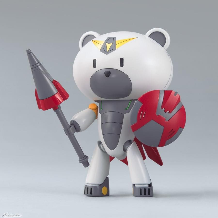 Gundam HGPG Petit'Gguy #23 Beargguy Petit'Gguy Justi'gguy Build Divers Bear Guy Model Kit