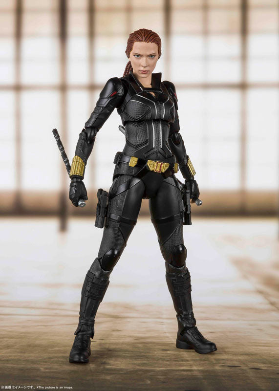 S.H. Figuarts Marvel Black Widow Movie Black Widow Action Figure 1