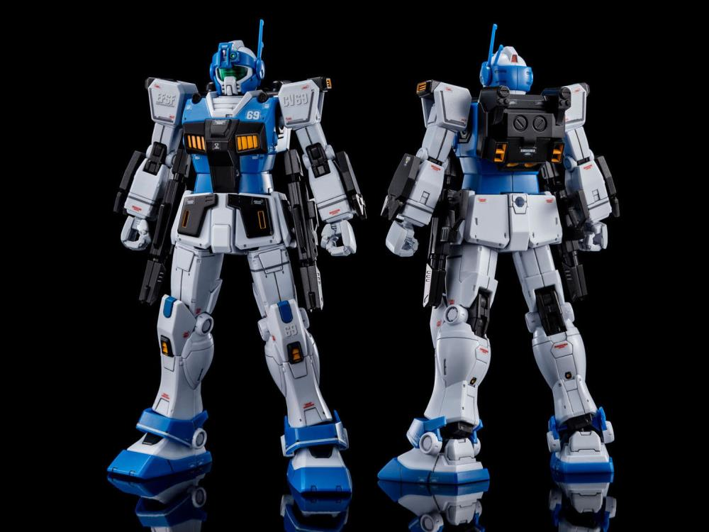 Gundam 1/144 HG The Origin RGM-79HC GM Guard Custom [With E-2 Beam Spray Gun] Model Kit Exclusive