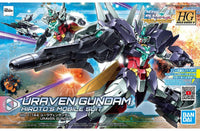 Gundam 1/144 HGBD:R #023 PFF-X7II/U7 Uraven Gundam Build Divers Re: Rise Model Kit