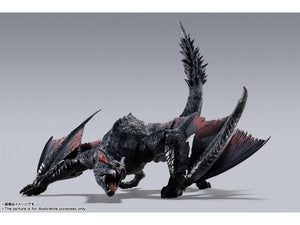 S.H. MonsterArts Monster Hunter Nargacuga Action Figure (With 1st Run Bonus)
