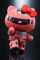 Chogokin Hello Kitty (Char's Zaku II Ver.) Action Figure