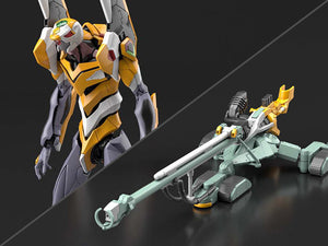Bandai 1/144 RG Rebuild Evangelion Unit-00 & DX Positron Sniper Rifle Model Model Kit 1