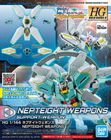 Gundam 1/144 HGBD:R #32 Build Divers Re:Rise Nepteight Weapons Model Kit