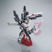 Gundam 1/144 HGUC #199 RX-0 Full Armor Unicorn Gundam (Destroy Mode/ Red Color Ver.) Model Kit